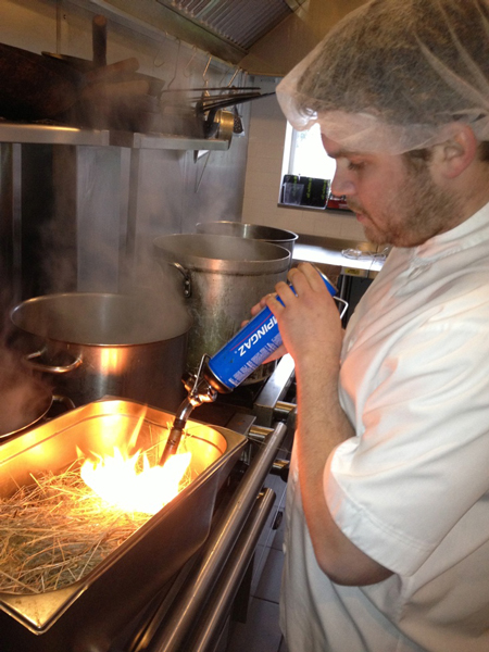 How a Michelin Starred Chef makes ash